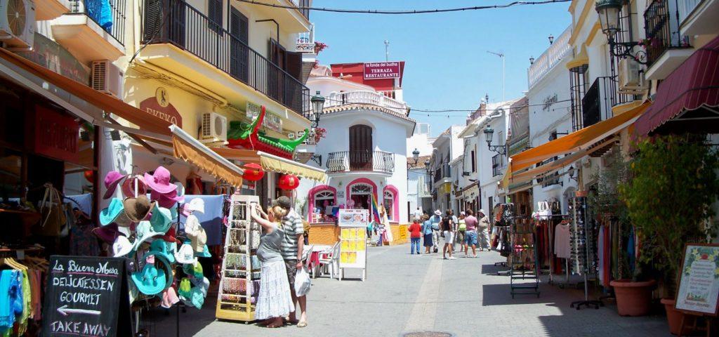 nerja-transfers.com town centre